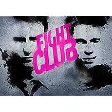 imagenation el Club de 'lucha rosa Graffiti' profesional 260G/m² Seda Arte Fotográfico Impresión–sin marco, 700mm X 1000mm