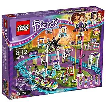 Lego 41130 Friends Amusement Park Roller Coaster Construction Set - Multi-coloured 4