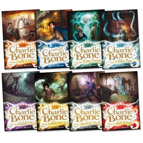 Charlie Bone Pack, 8 Books Collection Blue Boa; Castle of Mirrors; Charlie Bone & Hidden King; Charlie Bone & The Red Knight; Charlie Bone:Shadow Of Badlock; Charlie Bone:Wilderness Wolf; Midnight For Charlie Bone; Time Twister)