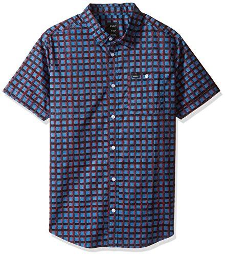 rvca-mens-shaded-short-sleeve-woven-shirt-dark-blue-medium