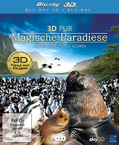 3D Pur - Magische Paradiese/Patagonien und die Azoren (3 Blu-rays) [3D Blu-ray]