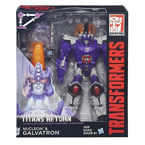 Transformers b7762eu4 – Assorted Characters Titans Return Voyager Generation