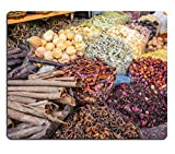 MSD Natural Rubber Gaming Mousepad IMAGE ID: 32945601 dried herbs flowers spices in the spice souq at Deira UAE Dubai
