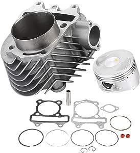 Zylinderkit Big Bore 61mm Motorrad Zylinderkit Kolben Dichtungssatz Für 150cc 200cc Motor Auto