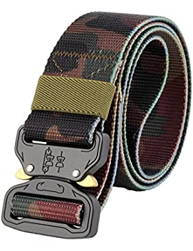 ALAIX Durable Cobra Tactical Belt Heavy-Duty Quick-Release Grande y alto 1.5