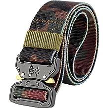 ALAIX Cinturón táctico estilo militar Cobra cinturón 1.5