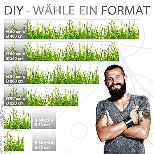 "Küchenrückwand selbstklebend Pro "" WIESEN GRAS "" 60 x 400cm DIY – Do It Yourself - 2"