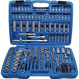 BGS 2292 Steckschlüsselsatz 6,3mm (1/4) + 10mm (3/8) + 12,5mm (1/2), 192 teilig