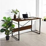 Kawachi Engineered Wood Work from Home Multipurpose Computer Desk Laptop Writing Study Table Oak Brown