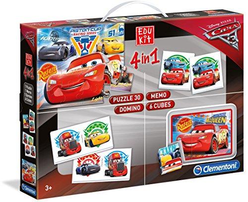 Clementoni 13710 - edukit 4 in 1 cars 3