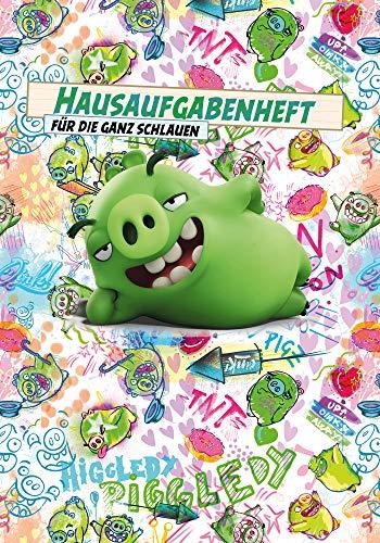 Skorpion Angry Birds Hausaufgabenheft DIN A5 96 Seiten Scrawled Pigs Notizheft Schulheft Schule 95ro16082 (Birds Pig Angry)