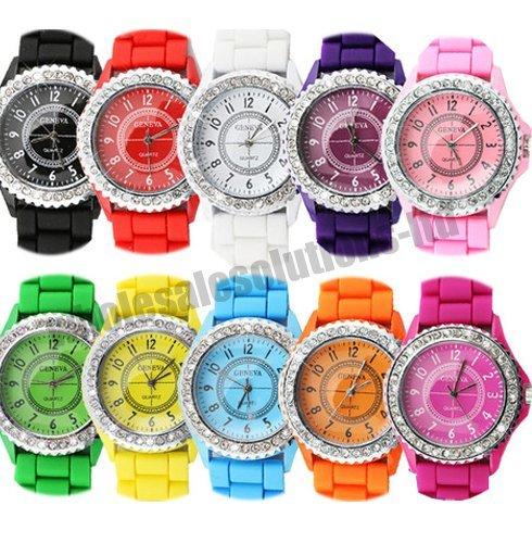 bling-stylish-crystal-silicone-bracelet-strap-wrist-watch-black