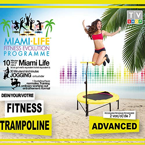 MiamiLife Advanced Workout-DVD zum Fitness Tramoplin - Trainings-DVD für Fortgeschrittene (Programm 2 von 7)