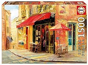 Educa Borrás- Hillside Café, Haixia Arquitectura Puzzle 1500 Piezas (17123)