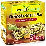 NourishVitals Granola Healthy Fruit Mix Snack Bar, 250g