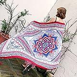 SAIBANGZI Sciarpa donna primavera e autunno inverno biancheria di cotone traspirante sciarpa crema solare scialle spiaggia sciarpa. Roulette.