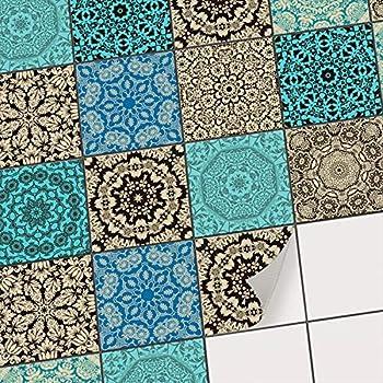 Creatisto Fliesenaufkleber Fliesenfolie U Mosaikfliesen I Fliesen Sticker Folie Aufkleber Fur Badezimmer Deko Folie Fur Badezimmer Gestaltung I