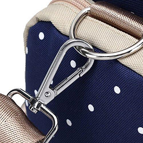 LUFA Multifunktionale große Kapazität Mutterschaft Rucksack für Outdoor Mutter Baby Bag Rot