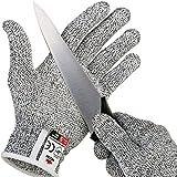 doogu resistente al corte guantes con agarre lunares–Nivel Alto Rendimiento 5Protección, de calidad alimentaria large