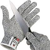 doogu resistente al corte guantes con agarre lunares–Nivel Alto Rendimiento 5Protección, de calidad alimentaria small