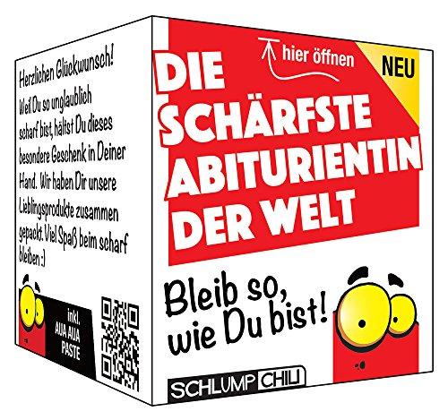 Die schärfste Abiturientin - ein witziges und originelles Geschenk Set zum Abi!