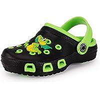 Kids Garden Clogs Toddler Non-Slip Garden Shoes Slip-on Sandals Beach Pool Shower Slippers Clog Mules for Children Girls…