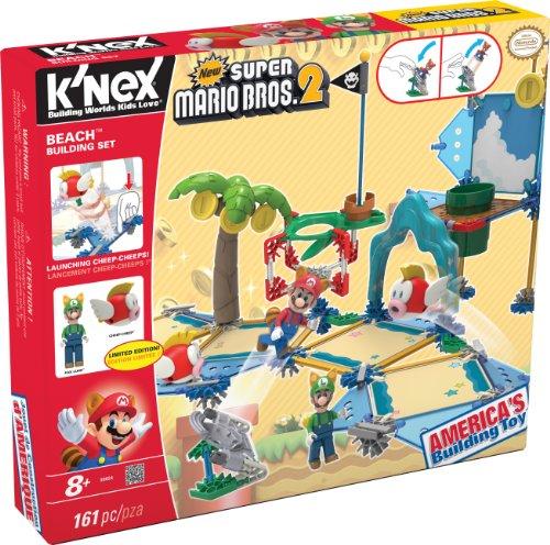 K'NEX 33149 - Bauset Super Mario, Beach (2 Bros Super Mario Knex)