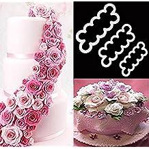 DIKETE® 3pcs Roses Forma di stampa del