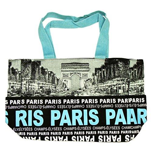 Sac Shopping Paris Robin Ruth 'Champs-Élysées' - Noir