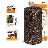 blackroll Orange (Das Original) Die Selbstmassagerolle - Vital-Set Standard (inkl. Übungs-DVD, -Booklet & Übungs-Poster)