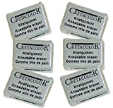 #9: Cretacolor Kneadable Eraser - Small (Pack of 6)