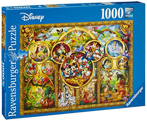 Ravensburger The Best Disney Themes 1000pc Jigsaw