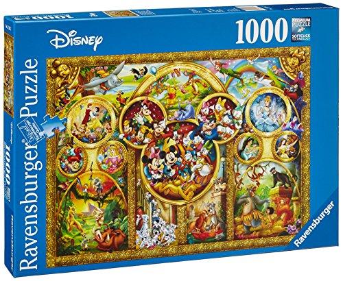 Ravensburger 15266 - Die schönsten Disney (Disney Cartoons Erwachsene)