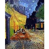 Puzzle d'art en bois 1000 pièces Michèle Wilson - Van Gogh : Le café le soir