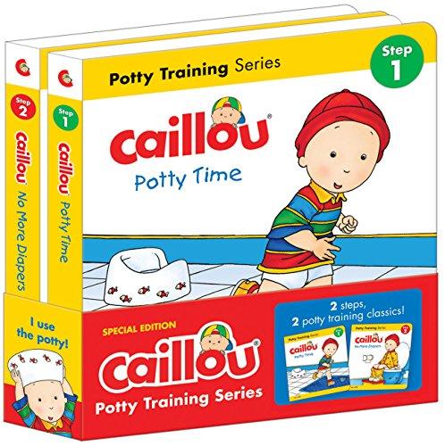 Caillou Potty Training Series: 2 Steps, 2 Potty Training Classics