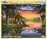Best White Mountain Friends Puzzle Pieces - White Mountain Puzzles Friends in Summer - 1000 Review
