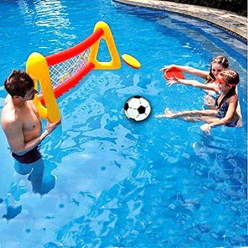 Wasser Aufblasbare Fu_ball-Tor Schwimm Planschbecken Fu_ball-Ziel-Planschbecken Fu_ball