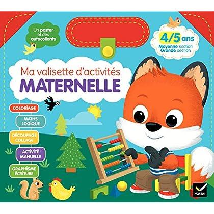 Ma valisette d'activités Maternelle 4/5 ans Moyenne section/Grande section