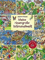 Meine riesengroße Wimmelwelt (Wimmelbilderbücher)