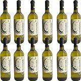 Falanghina del Beneventano IGP   Torre dei Chiusi   Confezione da 12 Bottiglie da 75Cl   I Vini della Campania