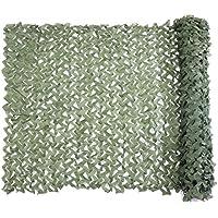 Red de Camuflaje Malla de Protección Redes 1.5 x 2M Verde Militar Ejército Táctico sin Cuerda de Red para el Sol Sombra Decoración Caza Ciegos Disparos Green