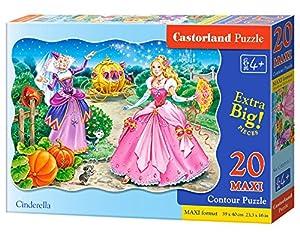 Castorland C-02313 Cinderella Premium Maxi Puzzle (20 Piezas)