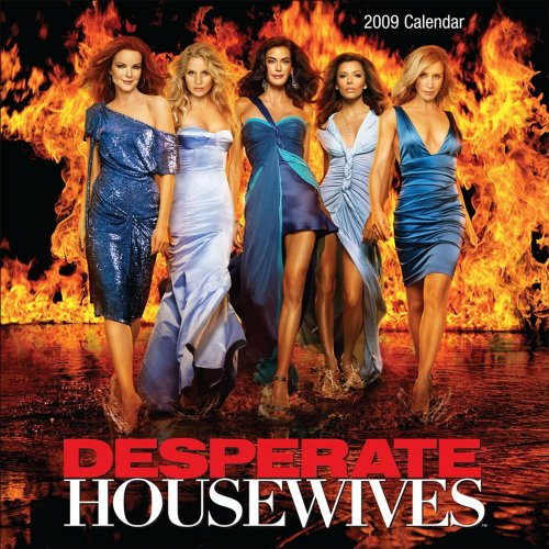 Click for larger image of Desperate Housewives Official 2009 Calendar -Square Wall