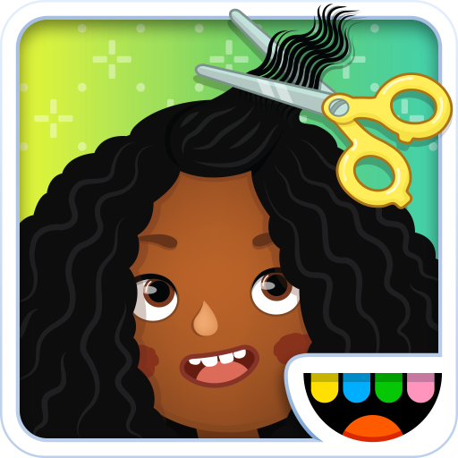 Toca Hair Salon 3 - Salon Rollen