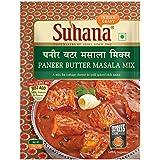 Suhana Paneer Butter Masala Mix,150 Grams(50g*3 packt pack of 3)