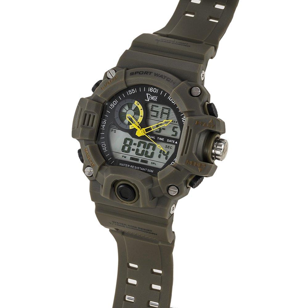 Inicio   Estilos   Réplicas   Zemge ZS1022 Reloj de pulsera analógico  digital ... 01689bb11005