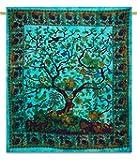 Handicrunch Wall hanging tapestry, Mandala Wall decor Beautiful Light multi Printed Wall Hanging tapestry