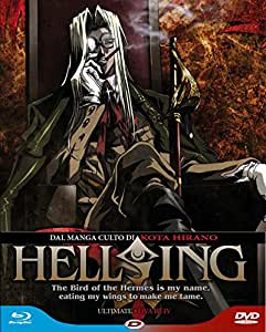 Hellsing Ultimate #02 Ova 3-4 (Blu-Ray+Dvd)