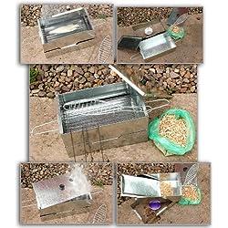 Neue Fisch Fleisch Hot Smoker Herd mit gratis Holz Chips