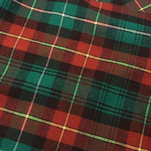 Prince Edward Island Tartan-Stoff, 100% reine Wolle, hergestellt in Schottland, 284 g -